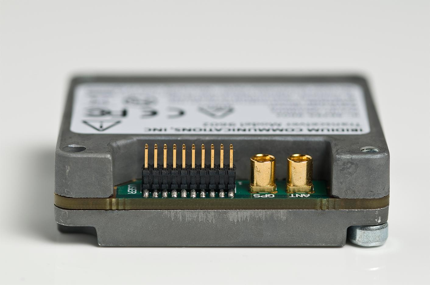 Iridium 9602 module connector
