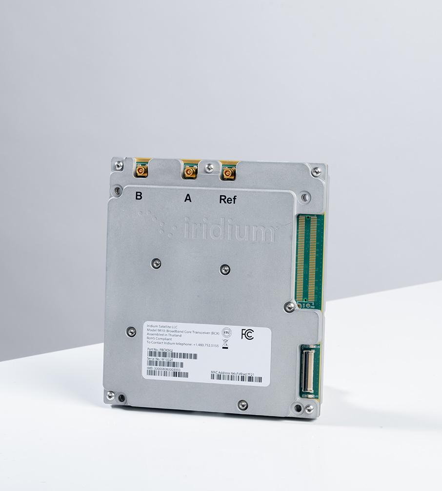Iridium Certus 9810 module studio photo