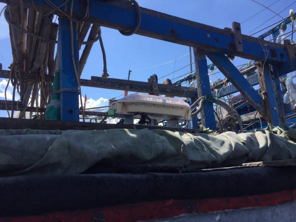 viettel vms on vietnamese fishing vessel