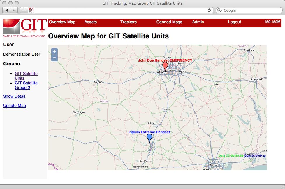 Gitsat X-Track Product Imagery