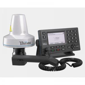 Lars Thrane LT-4100 System on white background