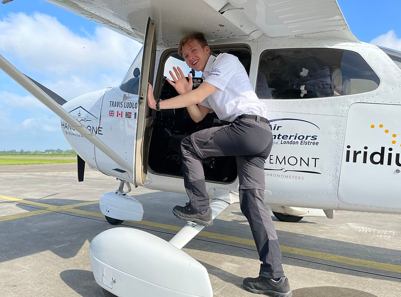 Q&A with Travis Ludlow – The Youngest Person to Fly Around the World Solo