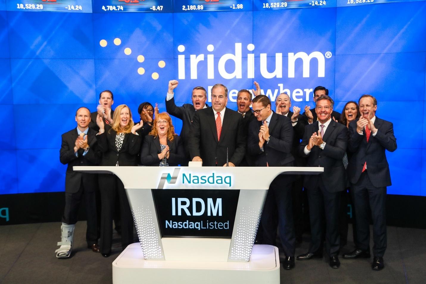Iridium Rings the Bell to Open Trading on Nasdaq