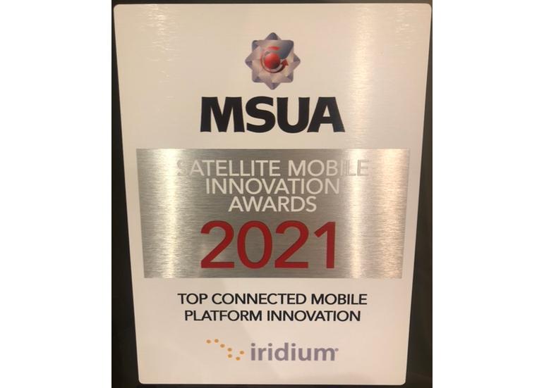 Iridium® GMDSS Wins Top Connected Mobile Platform Innovation Award
