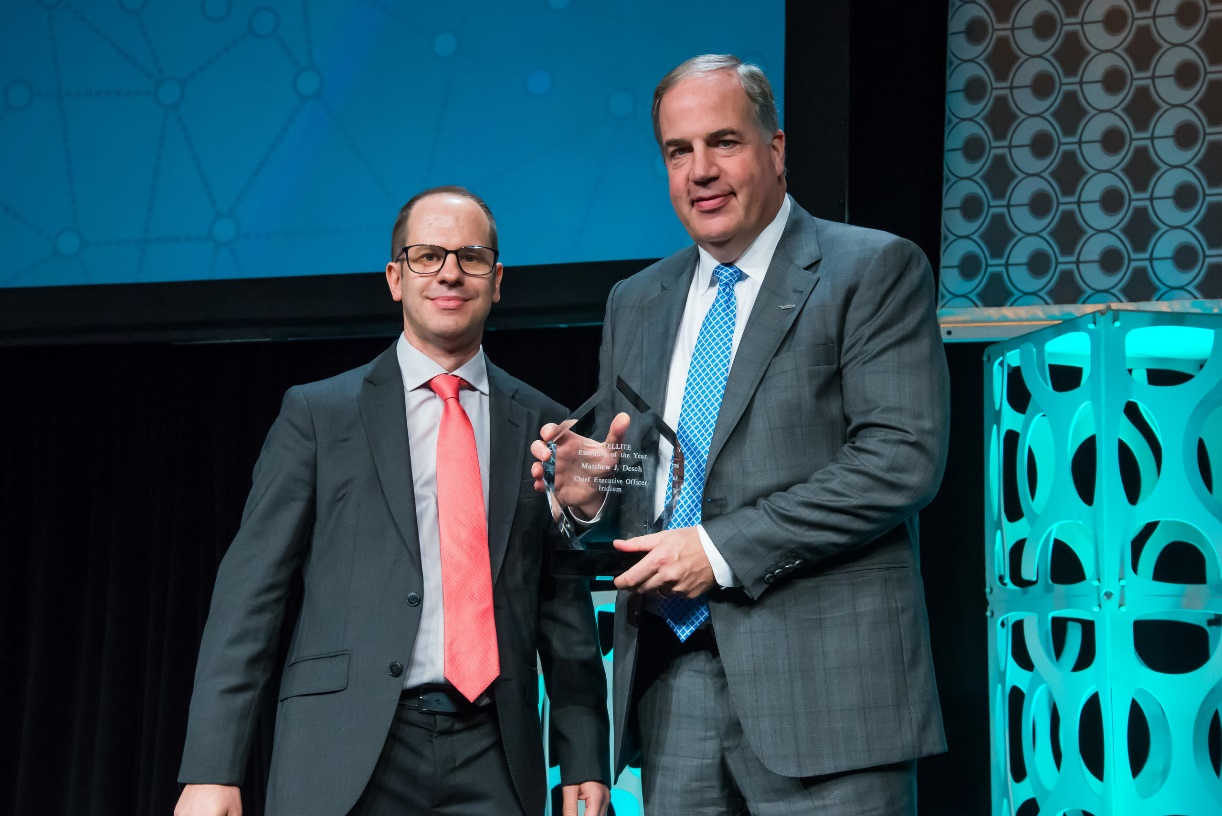 Matt became the first 2x winner of Via Satellite's Executive of the Year