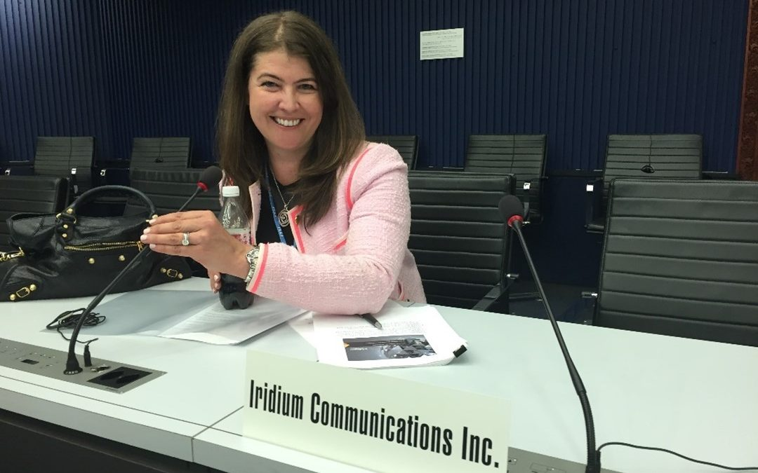 World Space Week – Highlighting Tatiana Lawrence, Iridium's Vice President of International Regulatory